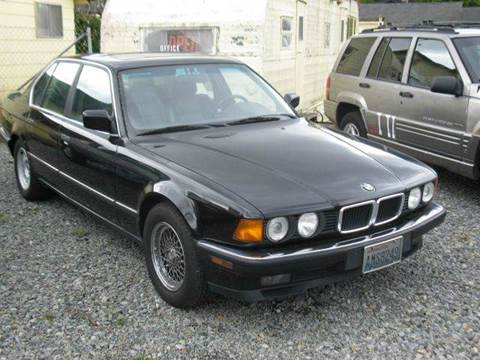 1993 BMW 7 Series for sale at MIDLAND MOTORS LLC in Tacoma WA