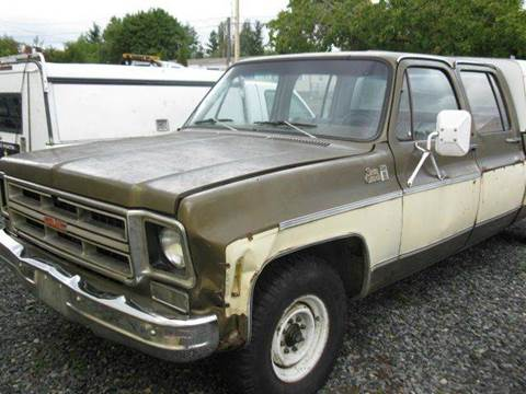 1976 Chevrolet C/K 20 Series for sale at MIDLAND MOTORS LLC in Tacoma WA