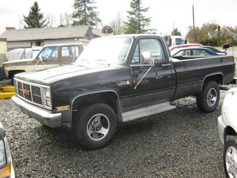 1986 GMC C/K 2500 Series for sale at MIDLAND MOTORS LLC in Tacoma WA