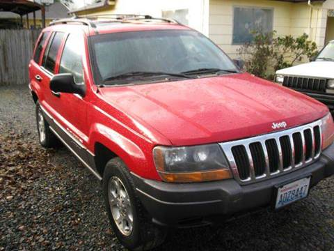 2001 Jeep Grand Cherokee for sale at MIDLAND MOTORS LLC in Tacoma WA