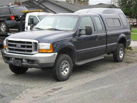 2001 Ford F-250 Super Duty for sale at MIDLAND MOTORS LLC in Tacoma WA