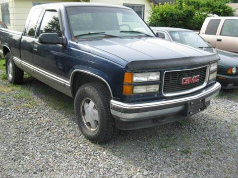 1998 GMC Sierra 1500 for sale at MIDLAND MOTORS LLC in Tacoma WA
