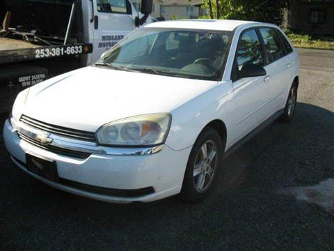 2005 Chevrolet Malibu Maxx for sale at MIDLAND MOTORS LLC in Tacoma WA