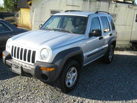 2002 Jeep Liberty for sale at MIDLAND MOTORS LLC in Tacoma WA