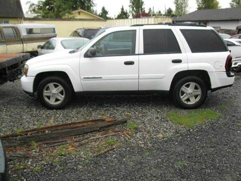 2003 Chevrolet TrailBlazer for sale at MIDLAND MOTORS LLC in Tacoma WA