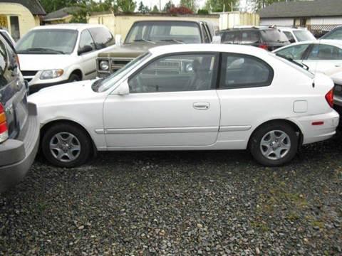 2005 Hyundai Accent for sale at MIDLAND MOTORS LLC in Tacoma WA