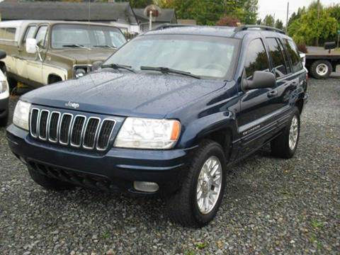 2002 Jeep Grand Cherokee for sale at MIDLAND MOTORS LLC in Tacoma WA