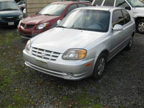 2005 Hyundai Accent for sale at MIDLAND MOTORS LLC in Tacoma WA