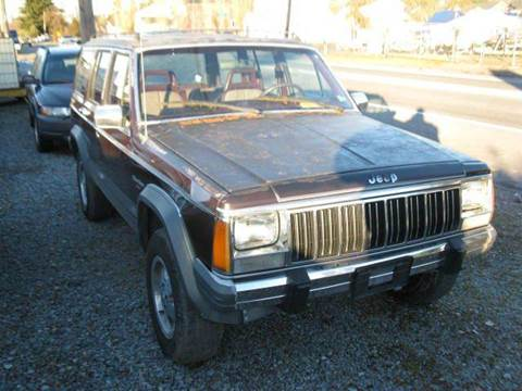 1989 Jeep Cherokee for sale at MIDLAND MOTORS LLC in Tacoma WA