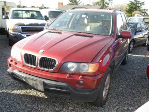 2002 BMW X5 for sale at MIDLAND MOTORS LLC in Tacoma WA