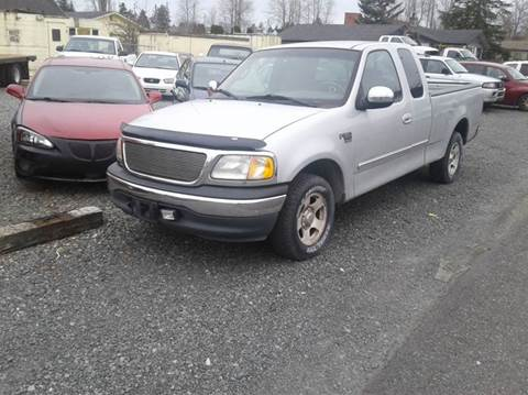 2002 Ford F-150 for sale at MIDLAND MOTORS LLC in Tacoma WA