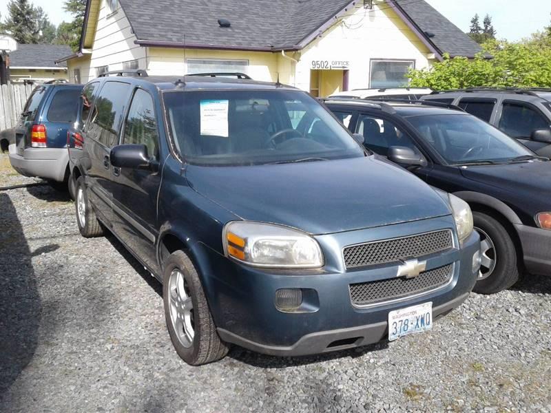 2005 Chevrolet Uplander Ls 4dr Extended Mini Van In Tacoma