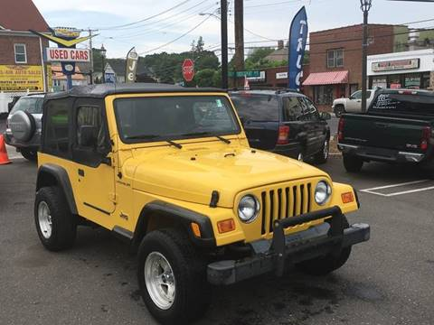 2000 Jeep Wrangler for sale at Bel Air Auto Sales in Milford CT