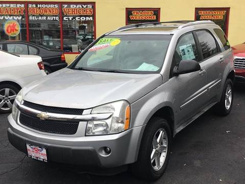 2005 Chevrolet Equinox for sale at Bel Air Auto Sales in Milford CT