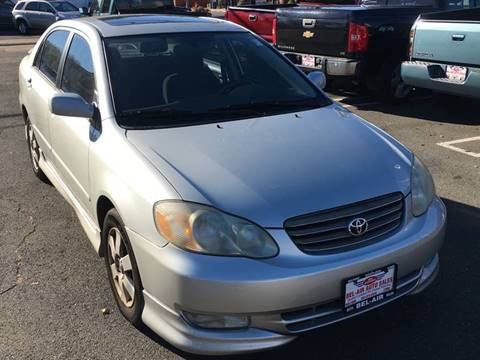 2004 Toyota Corolla for sale at Bel Air Auto Sales in Milford CT