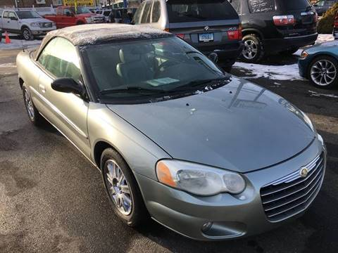 2004 Chrysler Sebring for sale at Bel Air Auto Sales in Milford CT