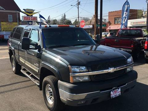 2003 Chevrolet Silverado 2500HD for sale at Bel Air Auto Sales in Milford CT