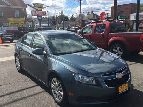 2012 Chevrolet Cruze for sale at Bel Air Auto Sales in Milford CT
