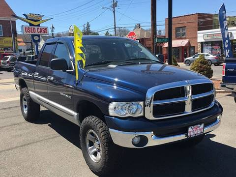 2004 Dodge Ram Pickup 1500 for sale at Bel Air Auto Sales in Milford CT