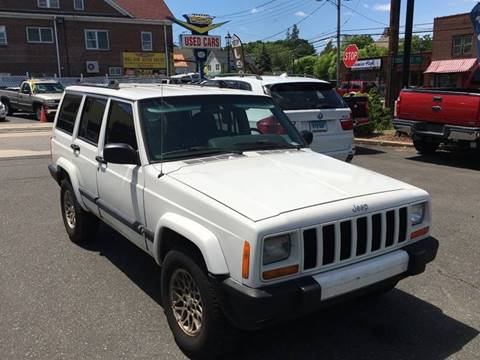2000 Jeep Cherokee for sale at Bel Air Auto Sales in Milford CT