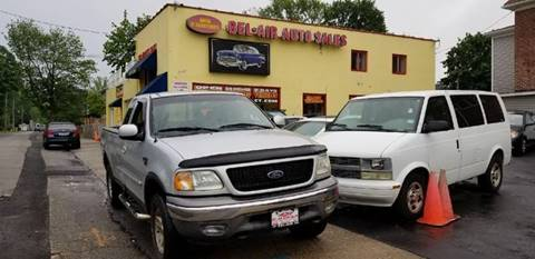 2002 Ford F-150 for sale at Bel Air Auto Sales in Milford CT