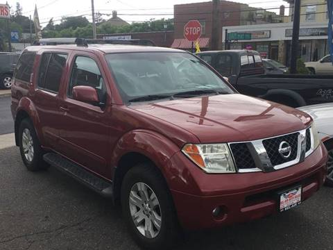 2005 Nissan Pathfinder for sale at Bel Air Auto Sales in Milford CT