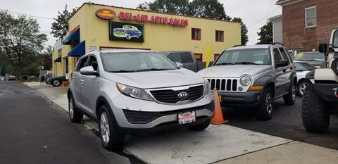 2013 Kia Sportage for sale at Bel Air Auto Sales in Milford CT