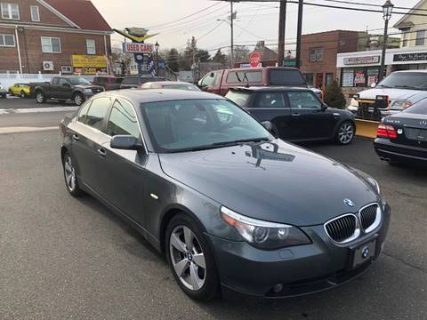 2007 BMW 5 Series for sale at Bel Air Auto Sales in Milford CT