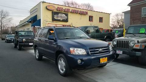 2005 Toyota Highlander for sale at Bel Air Auto Sales in Milford CT