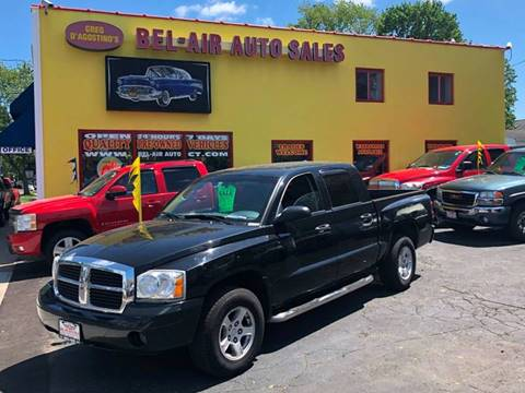 2007 Dodge Dakota for sale at Bel Air Auto Sales in Milford CT