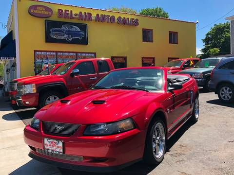 2001 Ford Mustang for sale at Bel Air Auto Sales in Milford CT