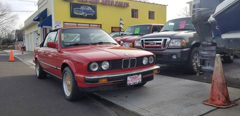 1988 BMW 3 Series for sale at Bel Air Auto Sales in Milford CT