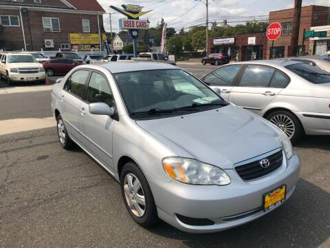 2007 Toyota Corolla for sale at Bel Air Auto Sales in Milford CT