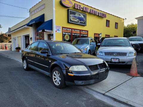 2004 Volkswagen Passat for sale at Bel Air Auto Sales in Milford CT