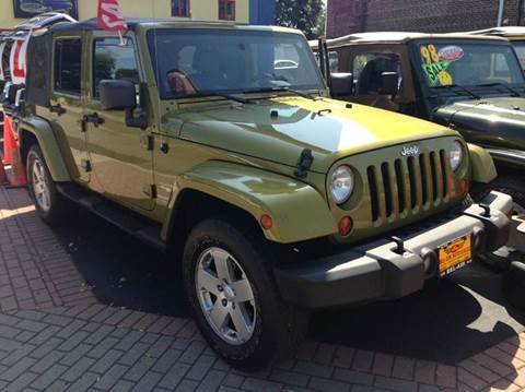2007 Jeep Wrangler Unlimited for sale at Bel Air Auto Sales in Milford CT
