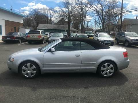 2004 Audi A4 for sale at Bel Air Auto Sales in Milford CT