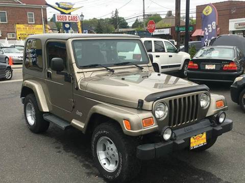 2003 Jeep Wrangler for sale at Bel Air Auto Sales in Milford CT