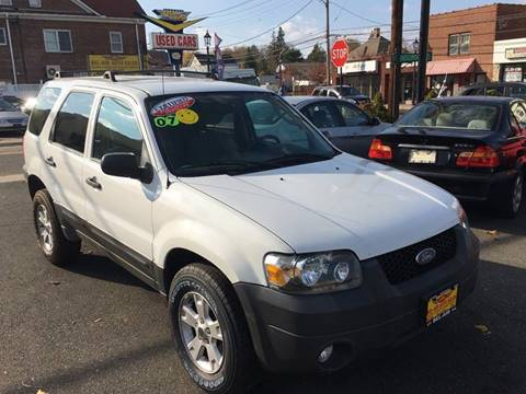 2007 Ford Escape for sale at Bel Air Auto Sales in Milford CT