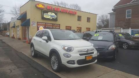 2016 FIAT 500X for sale at Bel Air Auto Sales in Milford CT