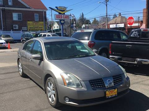 2005 Nissan Maxima for sale at Bel Air Auto Sales in Milford CT