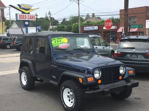 2002 Jeep Wrangler for sale at Bel Air Auto Sales in Milford CT