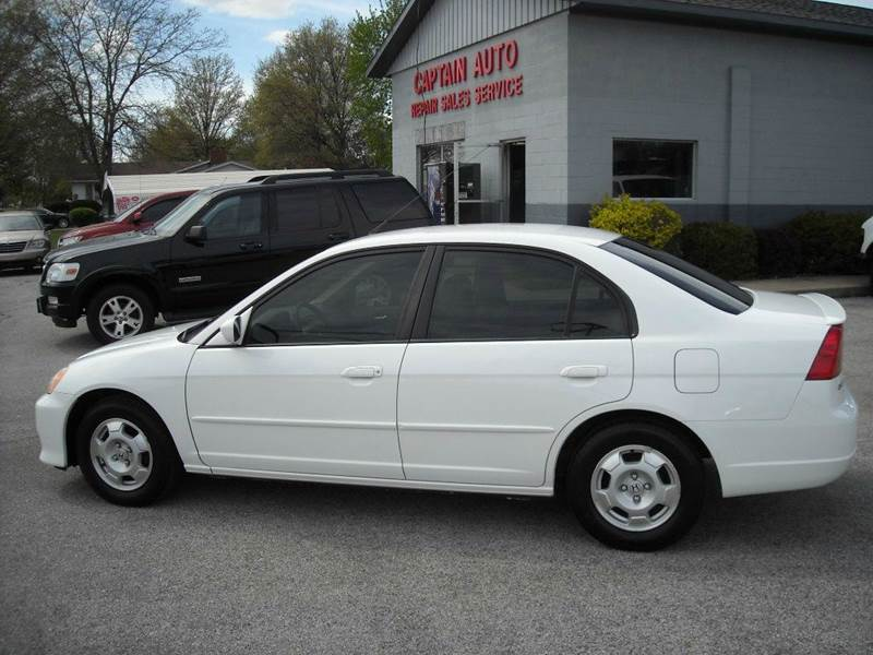 Amazing 2003 Honda Civic Hybrid 4dr Sedan   Bluffton IN