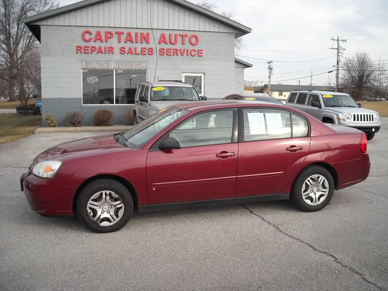 2007 Chevrolet Malibu LS 4dr Sedan   Bluffton IN
