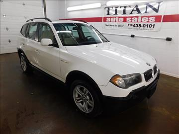 2005 BMW X3 for sale in Albany, NY