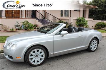 2007 Bentley Continental GTC for sale in Hermosa Beach, CA