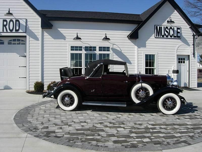 1931 Cadillac Convertible 3