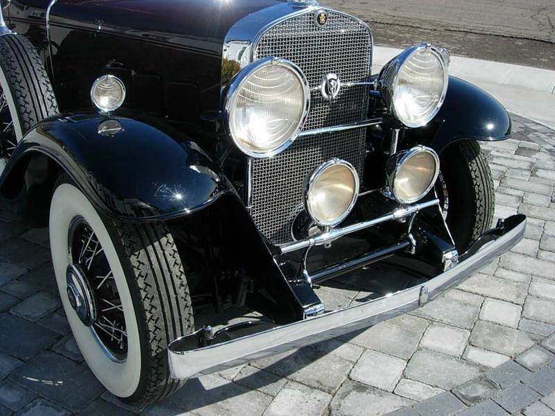 1931 Cadillac Convertible 6