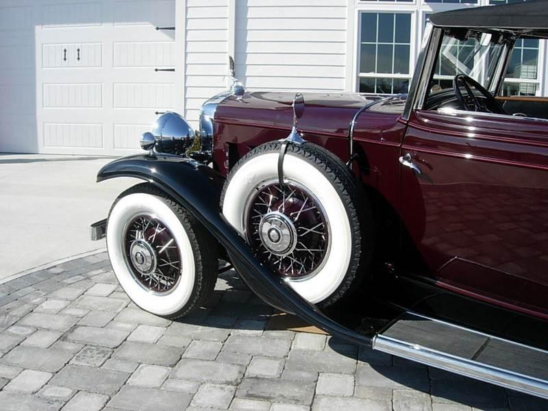 1931 Cadillac Convertible 7