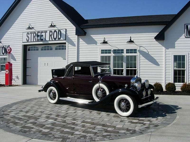 1931 Cadillac Convertible 1