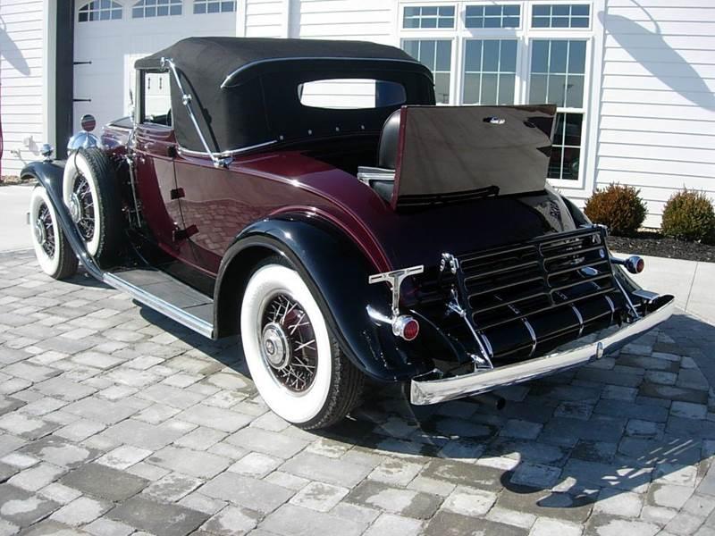 1931 Cadillac Convertible 2